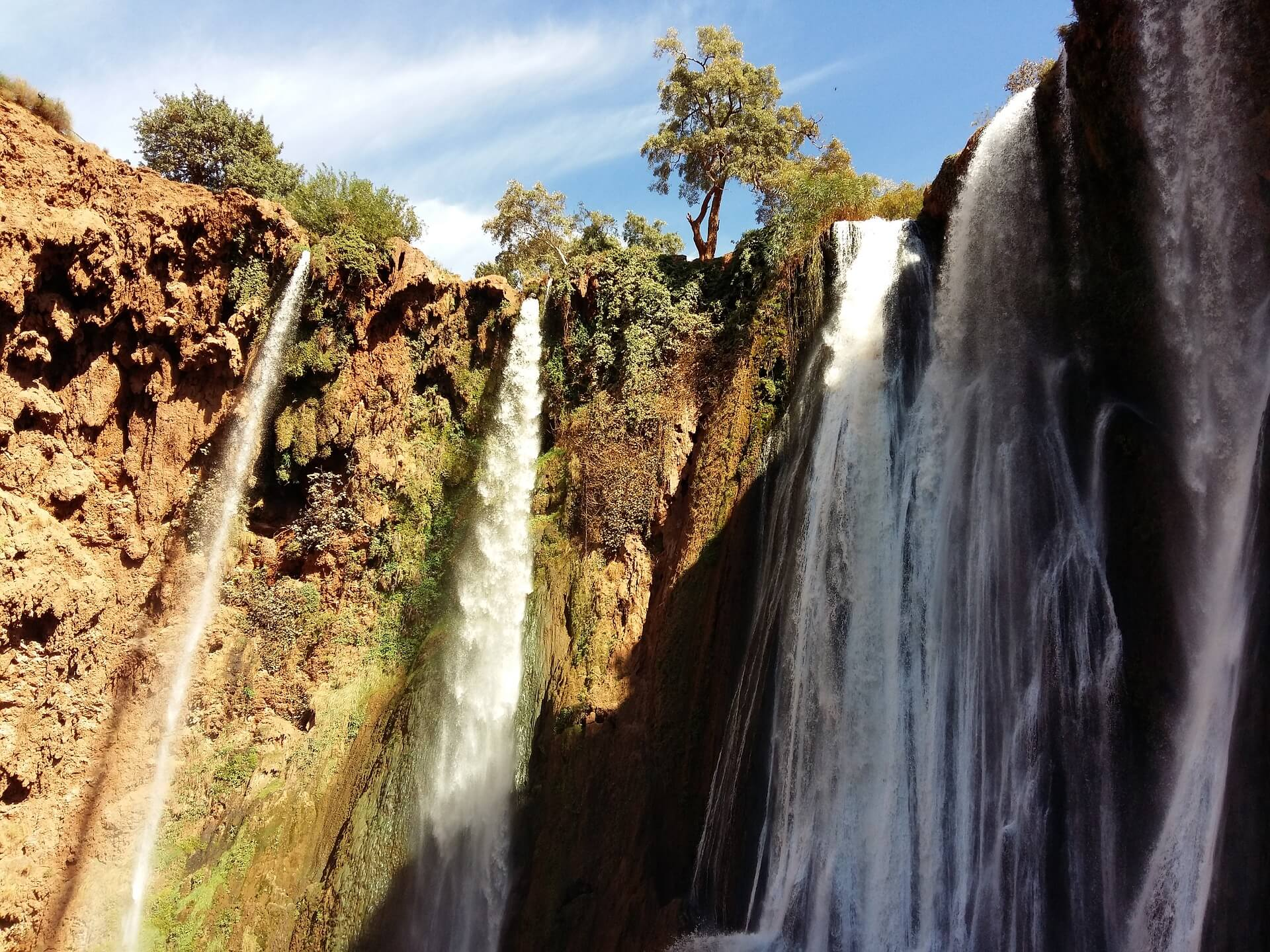 excursion marrakech vers les Cascade d'ouzoud
