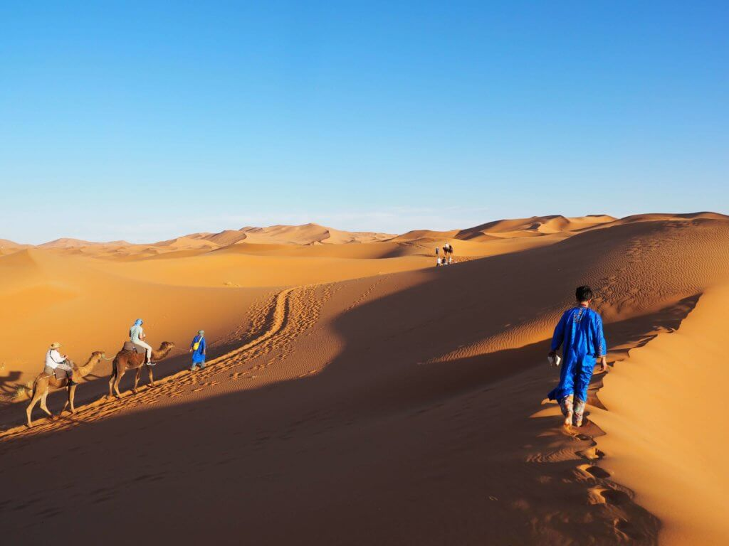 Circuit maroc entre vallées et désert